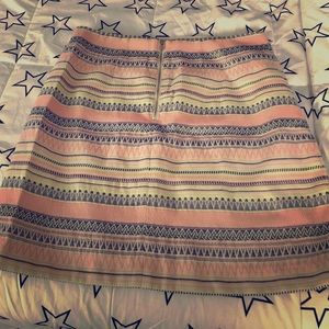 Multi coloured short skirt